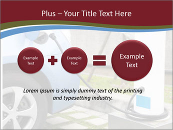 Electric car PowerPoint Template - Slide 75