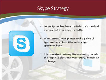 Electric car PowerPoint Template - Slide 8