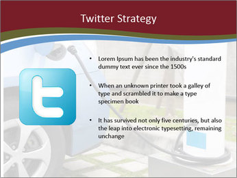 Electric car PowerPoint Template - Slide 9
