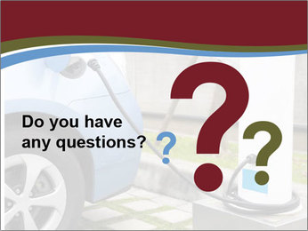Electric car PowerPoint Template - Slide 96
