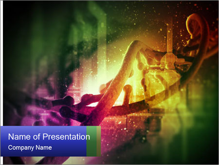 DNA molecule PowerPoint Templates