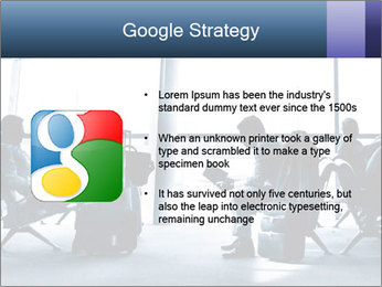 Business people traveling on airport PowerPoint Template - Slide 10