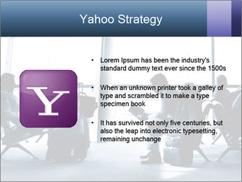Business people traveling on airport PowerPoint Template - Slide 11