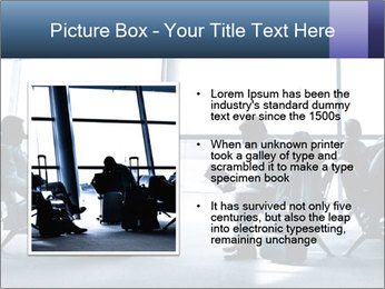 Business people traveling on airport PowerPoint Template - Slide 13