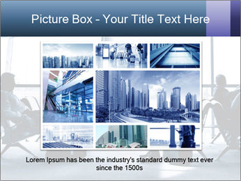 Business people traveling on airport PowerPoint Template - Slide 15