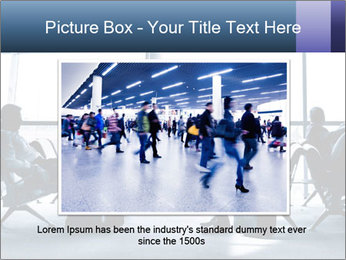 Business people traveling on airport PowerPoint Template - Slide 16