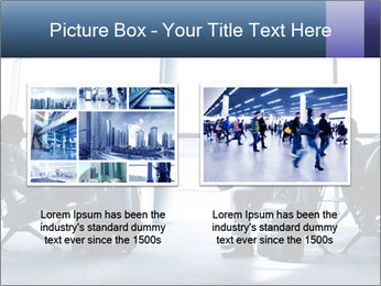 Business people traveling on airport PowerPoint Template - Slide 18