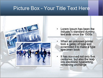 Business people traveling on airport PowerPoint Template - Slide 20