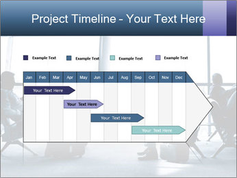 Business people traveling on airport PowerPoint Template - Slide 25