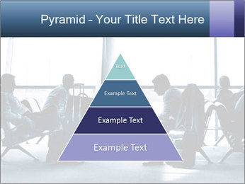 Business people traveling on airport PowerPoint Templates - Slide 30