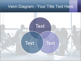 Business people traveling on airport PowerPoint Templates - Slide 33