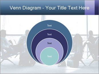 Business people traveling on airport PowerPoint Templates - Slide 34