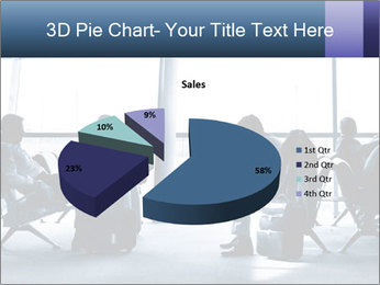 Business people traveling on airport PowerPoint Template - Slide 35