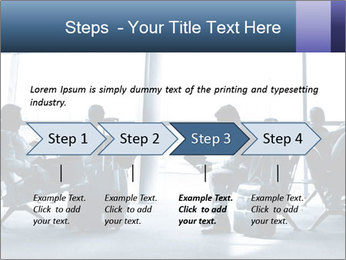 Business people traveling on airport PowerPoint Template - Slide 4