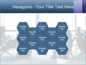 Business people traveling on airport PowerPoint Template - Slide 44