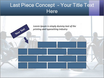 Business people traveling on airport PowerPoint Template - Slide 46