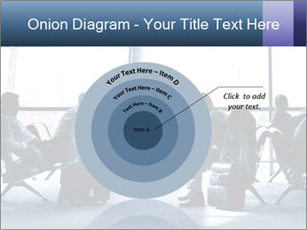 Business people traveling on airport PowerPoint Template - Slide 61