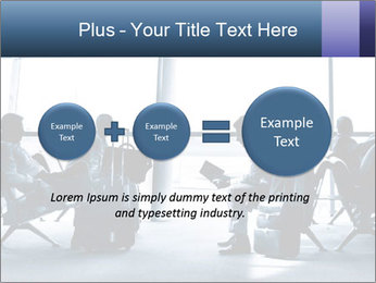 Business people traveling on airport PowerPoint Template - Slide 75
