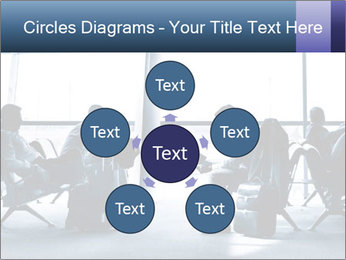 Business people traveling on airport PowerPoint Templates - Slide 78