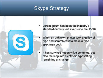 Business people traveling on airport PowerPoint Templates - Slide 8