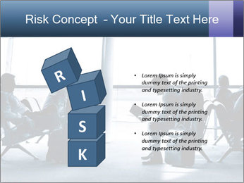 Business people traveling on airport PowerPoint Template - Slide 81