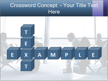 Business people traveling on airport PowerPoint Template - Slide 82