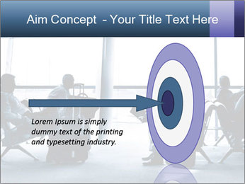 Business people traveling on airport PowerPoint Template - Slide 83