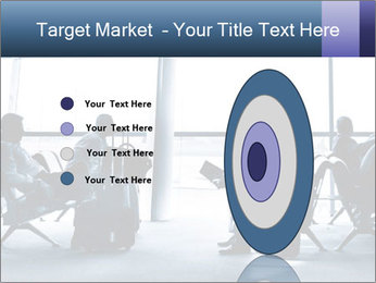 Business people traveling on airport PowerPoint Template - Slide 84