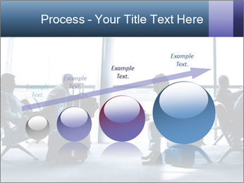 Business people traveling on airport PowerPoint Template - Slide 87