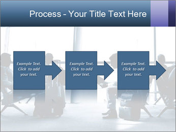 Business people traveling on airport PowerPoint Template - Slide 88
