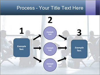Business people traveling on airport PowerPoint Template - Slide 92
