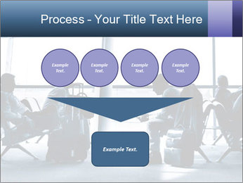 Business people traveling on airport PowerPoint Template - Slide 93