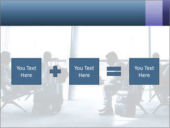 Business people traveling on airport PowerPoint Template - Slide 95