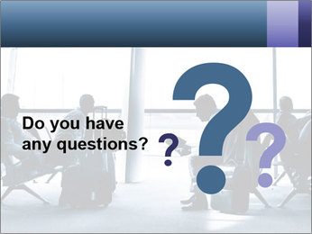 Business people traveling on airport PowerPoint Template - Slide 96