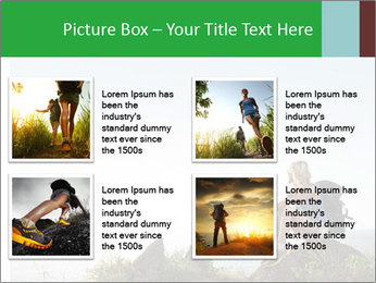 Hiker lady PowerPoint Templates - Slide 14