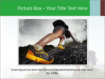 Hiker lady PowerPoint Templates - Slide 15