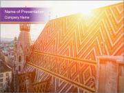 Cathedral Roof PowerPoint Templates