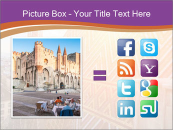 Cathedral Roof PowerPoint Template - Slide 21