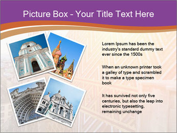 Cathedral Roof PowerPoint Template - Slide 23