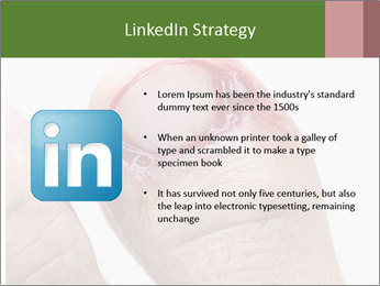 Bleeding at toenail PowerPoint Template - Slide 12