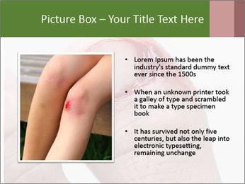 Bleeding at toenail PowerPoint Template - Slide 13