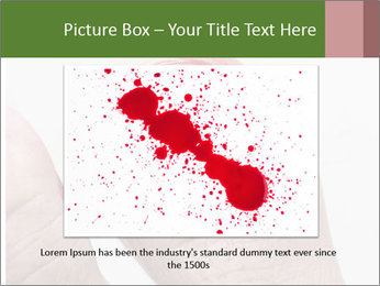 Bleeding at toenail PowerPoint Template - Slide 15