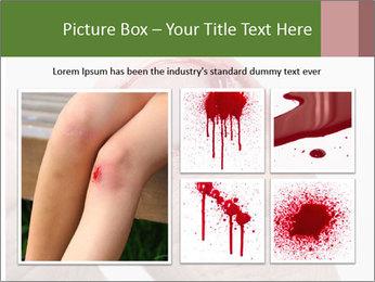 Bleeding at toenail PowerPoint Template - Slide 19