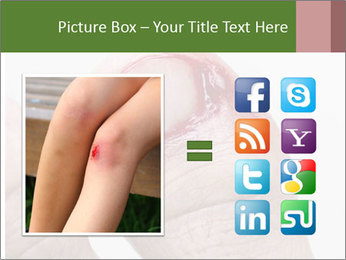 Bleeding at toenail PowerPoint Template - Slide 21