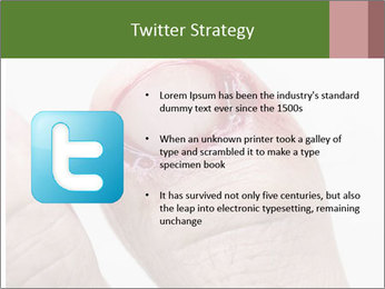 Bleeding at toenail PowerPoint Template - Slide 9