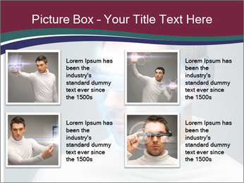 Picture of handsome man PowerPoint Template - Slide 14