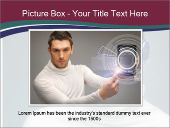 Picture of handsome man PowerPoint Template - Slide 16