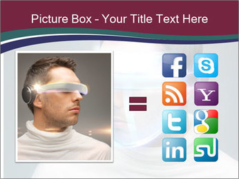 Picture of handsome man PowerPoint Template - Slide 21