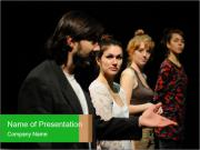 Theater Institute PowerPoint Templates