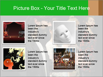 Theater Institute PowerPoint Templates - Slide 14